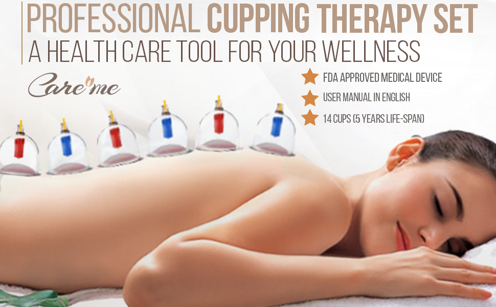 Best Cupping Sets with vacuum strong suction for body massage muscle pain  relief medical therapist