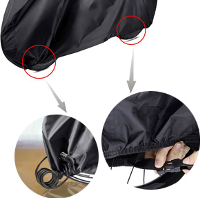 bicycle cover outdoor waterproof for 2 bikes