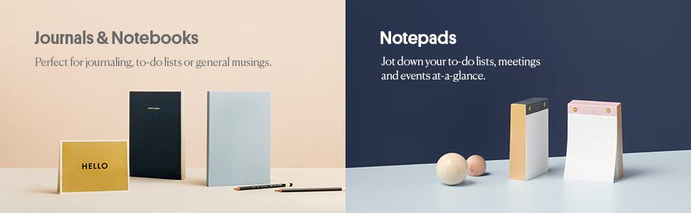 Journals, Notebooks, Notepads