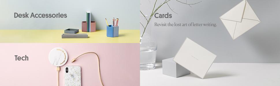 Tech, Desk Accessories, Cards