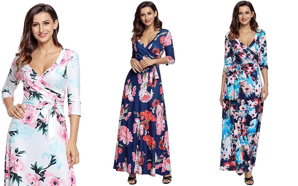 Maxi summer long dresses
