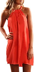 2d5ea5cde1 Ruffles Sleeve Gown Mermaid Evening Party Dress · Summer Strapless A Line  Boho Flare Hem Midi Dresses · V Neck Dress Tie Waist Sleeveless Swing Midi  Dress ...