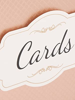 Rose gold decorated gift card box