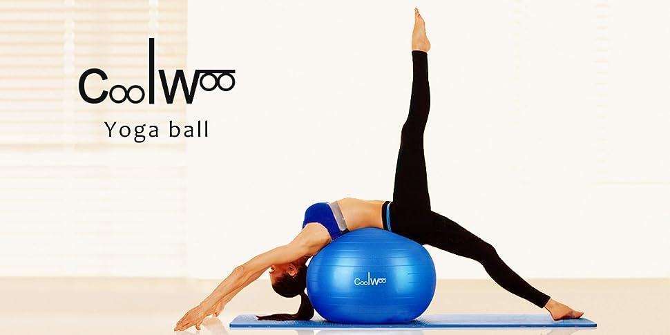 Amazon.com: Pelota de ejercicio, Yoga bola de la estabilidad ...