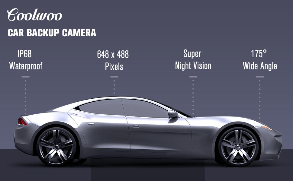 Amazon.com: Car Backup Camera, 175° Wide Angle HD Easy