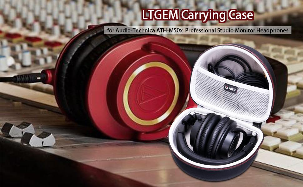 0216d829c36 Amazon.com: LTGEM Case for Audio-Technica ATH-M50x/M50/M70X/M40x ...
