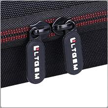 LTGEM EVA Hard Case for Numark DJ2GO2 | Pocket DJ Controller -Travel Protective Carrying Storage Bag