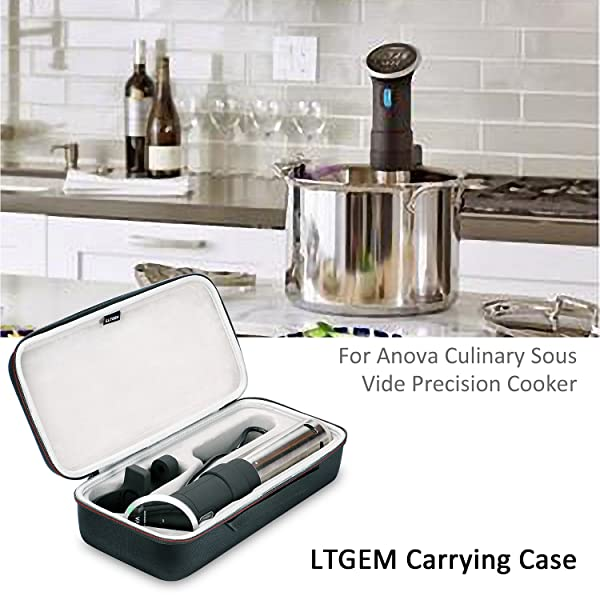 Case Only LTGEM Case for Anova Culinary AN500-US00 Sous Vide Precision Cooker
