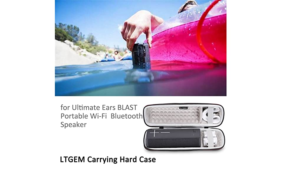Bluetooth Speaker LTGEM Case for Ultimate Ears BLAST Portable Wi-Fi