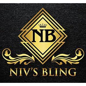Logo Brand Niv's Bling Ganster Rapper Hip Hop