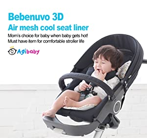 Mother & Kids Trustful Comfortable Baby Stroller Cushion Pram Padding Liner Car Cotton Mat Cover Stroller Pad Car Seat Pad Cotton Thick Mat Durable Service Strollers Accessories