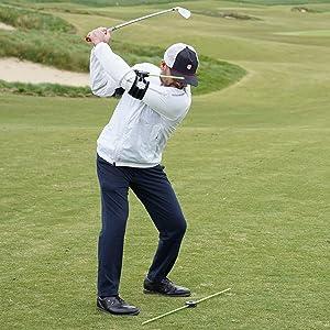 Golf Alignment, Golf Swing Trainer, Golf Swing Aid, Swing Align, Golf Rotation, Golf Connection