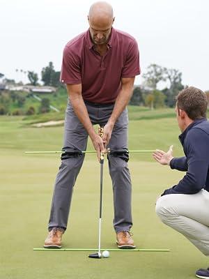 Golf Alignment, Golf Swing Trainer, Golf Swing Aid, Swing Align, Golf Putting Aid, Golf Short Game