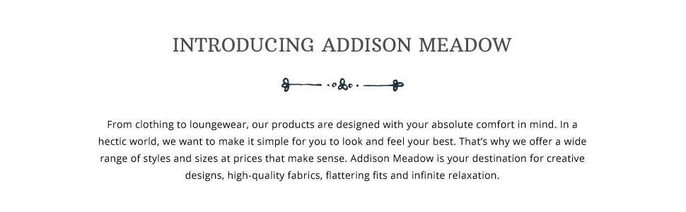 Introducing Addison Meadow brand story