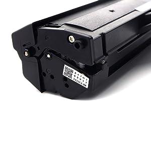 EBY Compatible Toner Cartridge Replacement for Samsung MLT-D111L (Black , 1 pk)