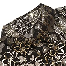Amazon.com: URRU - Camisa de vestir para hombre, diseño de ...