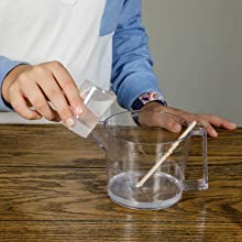 Add 100ml of water