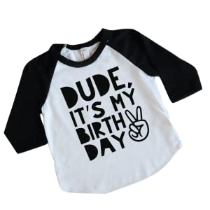 Amazon Boy Second Birthday Shirt Kids Dude Its My Birthday
