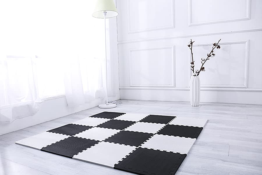 Amazon Superjare Interlocking Floor Tiles 16 Tiles 16 Tiles
