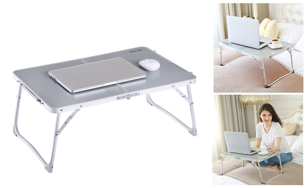 Furniture Frugal Large Size Adjustable Laptop Bed Coach Table Portable Standing Desk Foldable Sofa Breakfast Tray Notebook Stand Reading Kid Desk
