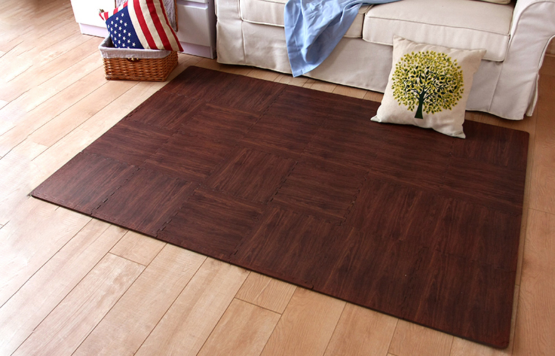 Dark Wood Grain (Effect of 24 Tiles) - Amazon.com : Superjare 16 Tiles (16 Tiles = 16 Sq.ft) Eva Foam