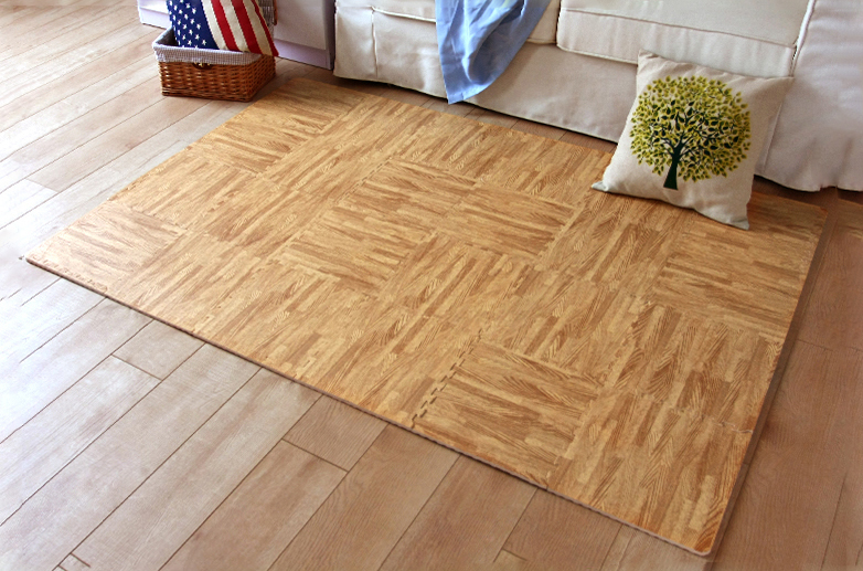 Light Wood Grain (Effect of 24 Tiles) - Amazon.com : Superjare 16 Tiles (16 Tiles = 16 Sq.ft) Eva Foam