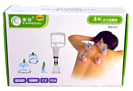 Lower Price with Kangzhu Chinese Cupping Therapy Acupuncture Set Professional With Vacuum Pump & Acupuncture