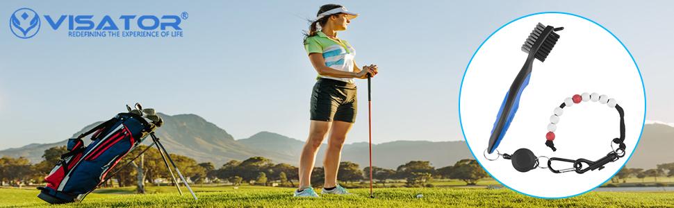 VISATOR Golf Brush Tool