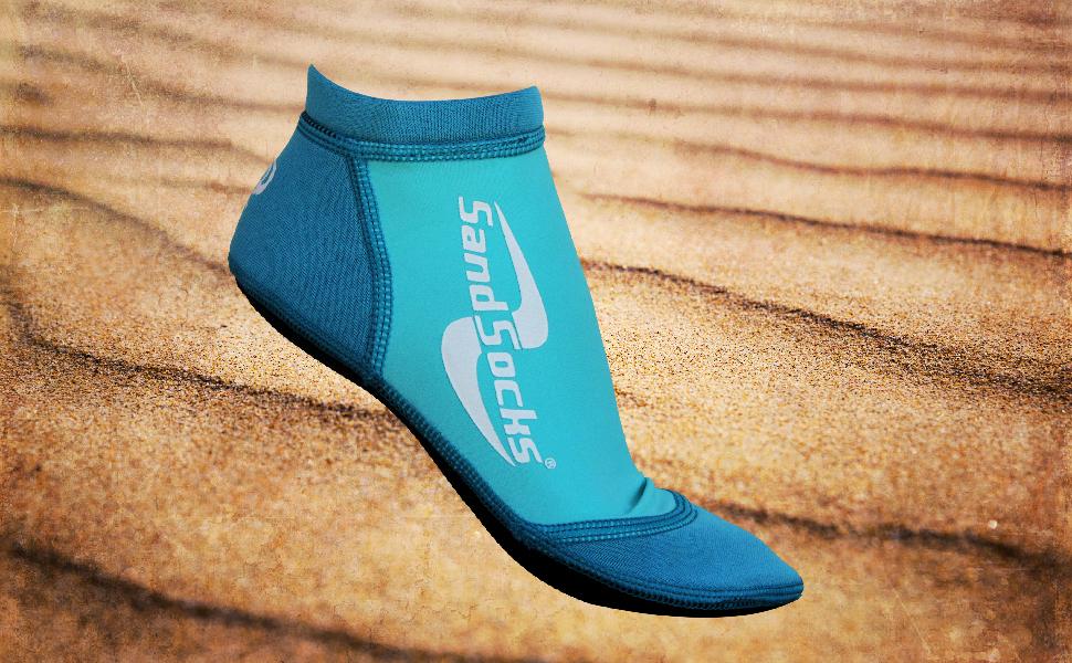 **NOT VINYL** Summer Socks Lucky Socks Ocean Air Salty Hair Beach Socks