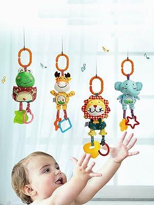 plush rattle toys