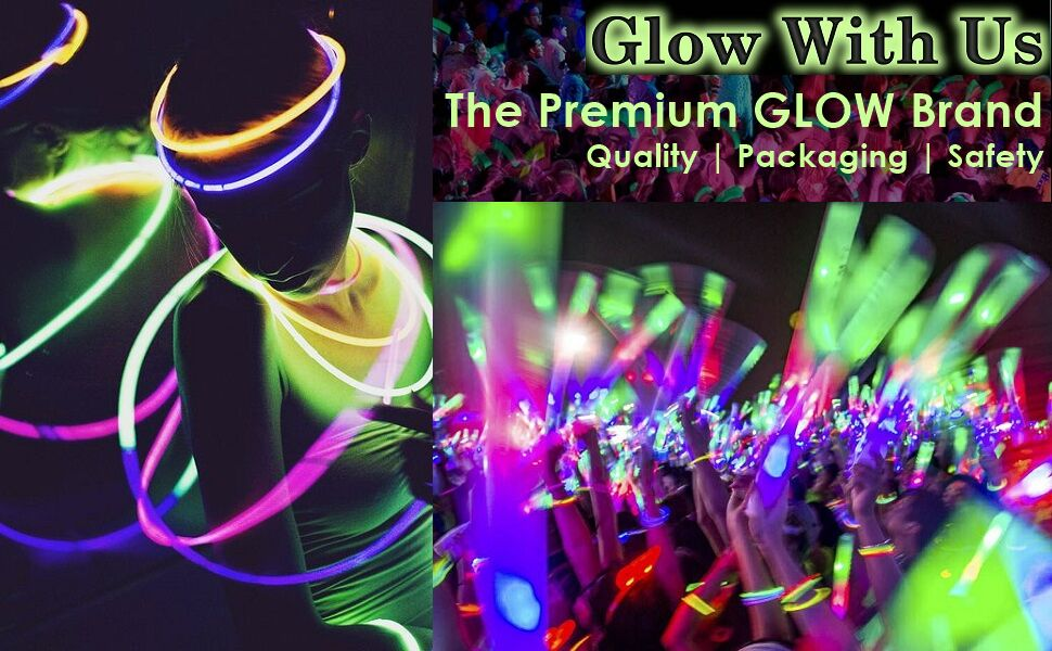 Amazon.com: Glow Sticks al por mayor a granel, 50 de 4 ...