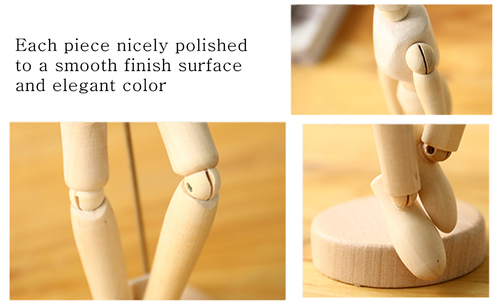 Amazon.com: Wooden Human Mannequin for Drawing - Figure ...