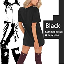2972d9b94060 Celmia Women Mini T Shirt Dress Summer Choker Sexy Juniors Dresses V ...