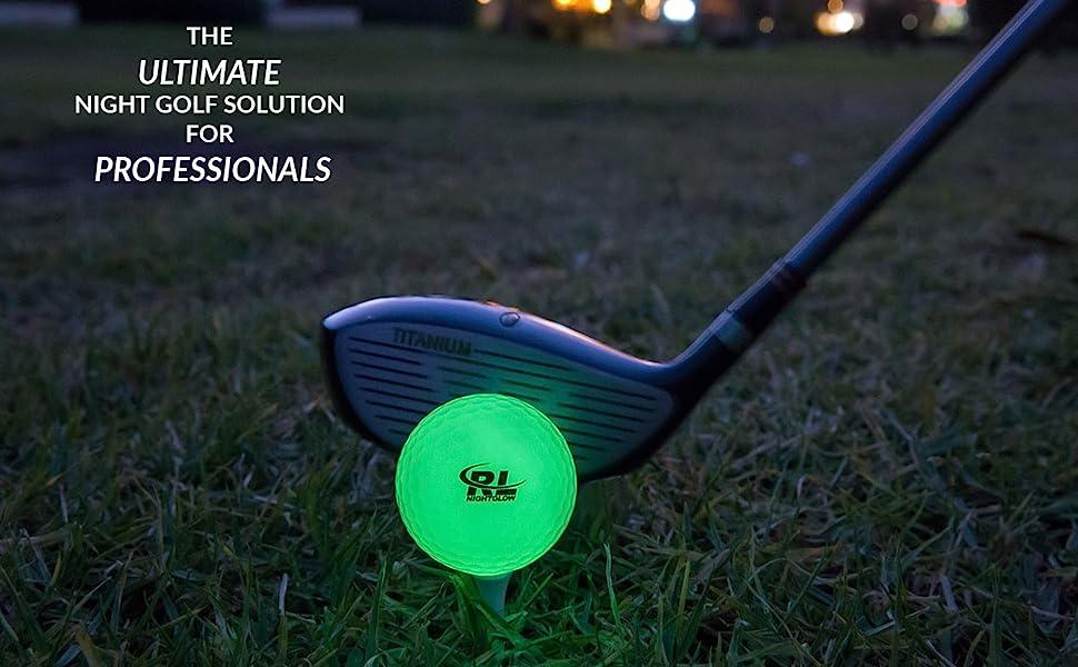 Night Golf Ball Glow in The Dark