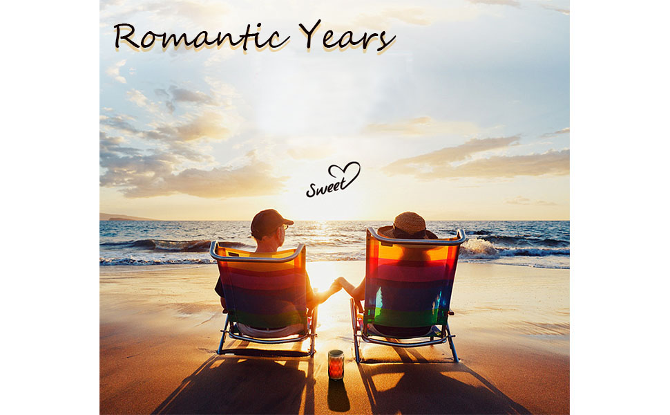 Romantic Years---Hand in hand to spend the long years of life
