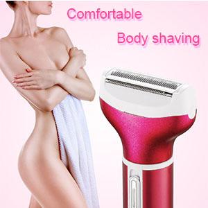 Comfortable Body shaving