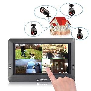 24 7 outdoor night vision security camera