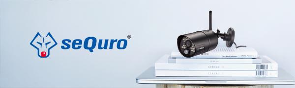 sequro brand image and dvr camera