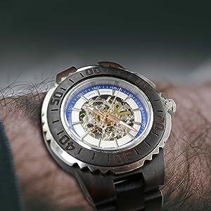wood watch men