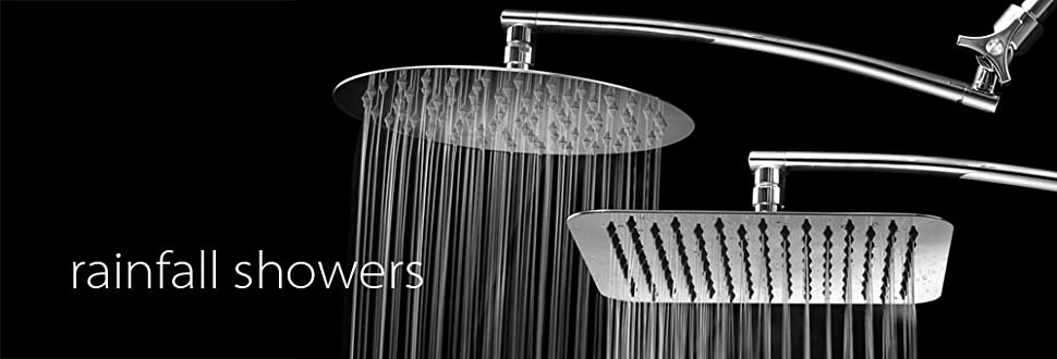 Start Looking Forward To Your Daily Routine With A New Rainfall Shower Head!