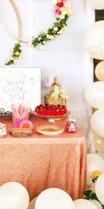 Amazon.com: Camino de mesa de lentejuelas B-COOL, para bodas ...