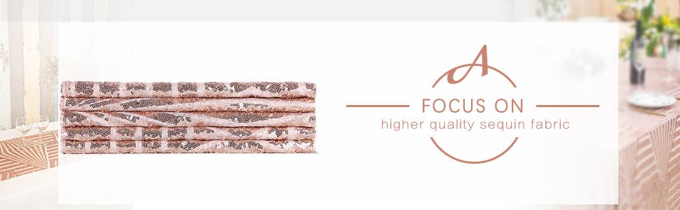 Amazon.com: B-COOL - Mantel rectangular de lentejuelas para ...