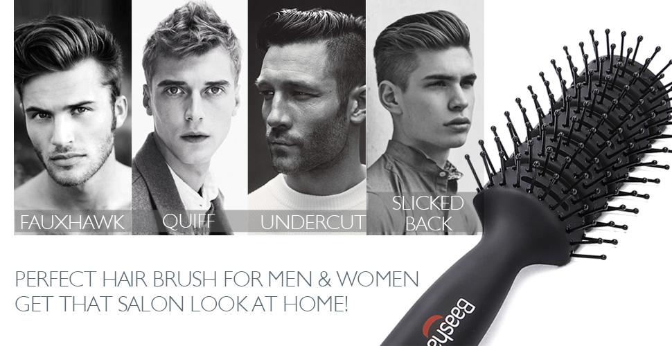 Amazon Baasha Hair Brush Vent Brush For Men Women Vent