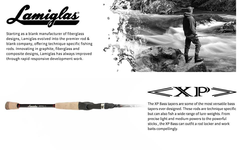 Lamiglas XP Bass fishing rod