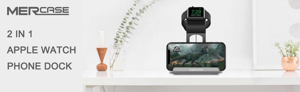 Mercase apple watch phone dock