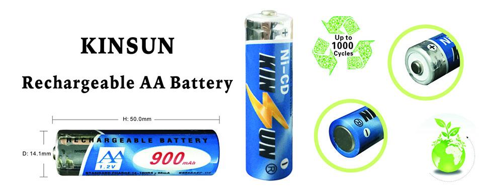Amazon Com Kinsun 8 Pack Rechargeable Batteries 1 2v Ni