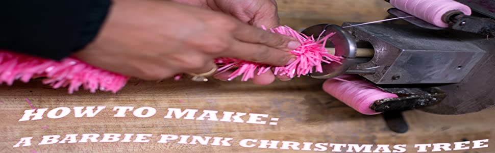 how to make christmas tree tinsel artificial made in the usa holiday decorations lee display home