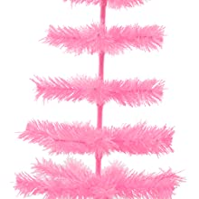 pink christmas tree artificial holiday decor centerpiece wedding tabletop display artificial rose