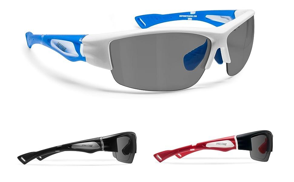 Amazon.com: Bertoni Polarizado Deportes Gafas de sol ...