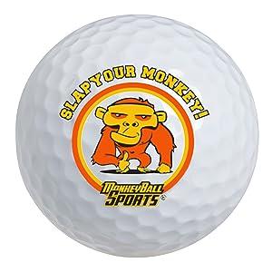 Amazon.com: Slap Yo Monkey! Calcetín de golf con 1 pelota de ...